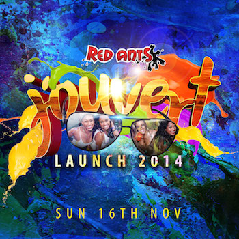 Red Ants J'ouvert Launch 2014